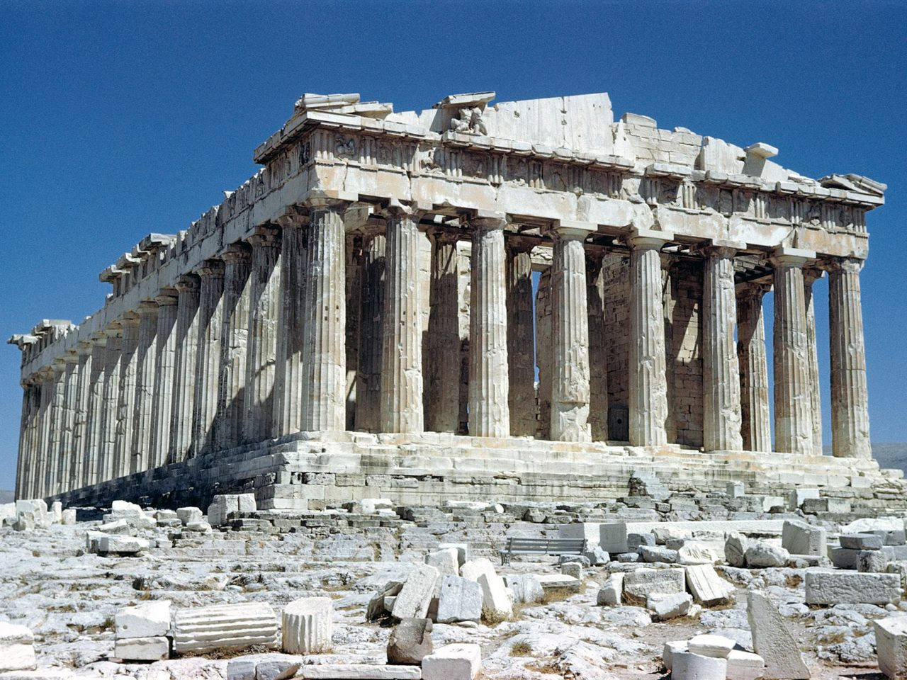 Arquitectura griega el partenon geohistoria apuntes for Arquitectura griega templos
