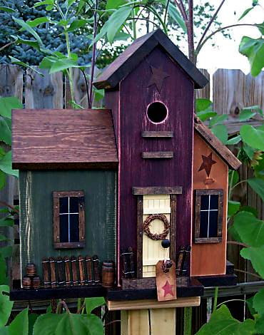 A brit in tennessee for the birds for Different types of birdhouses