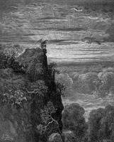 Gustav Dore - An Drochbhuaachaill ag breathn ar Fhlithis