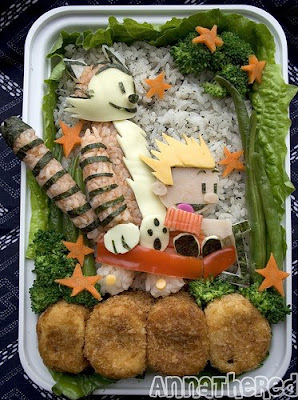 Bento- Japanese version of packed lunches