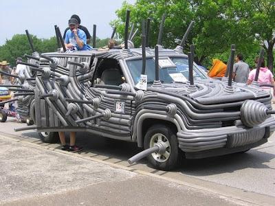 عکس: وسایل نقلیه جالب