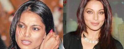 www.cloobmusic.com بازیگران زن سینمای هند قبل و بعد آرایش!