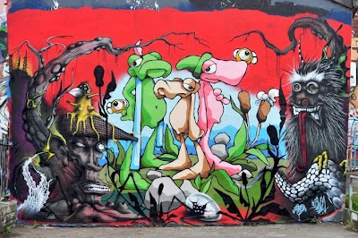 graffiti art murals