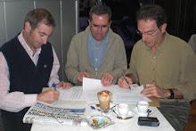 Membres fundadors de Memorial Democràtic del Berguedà