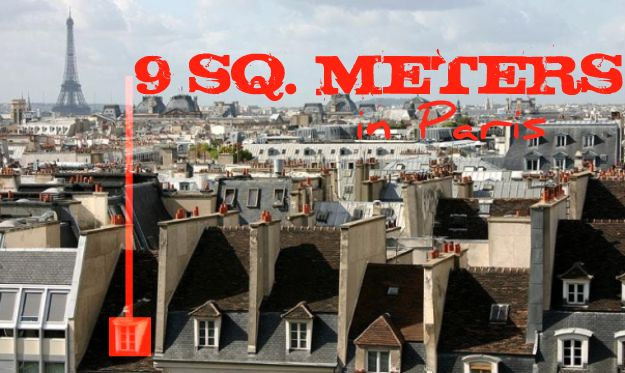 9 Sq. Meters in Paris