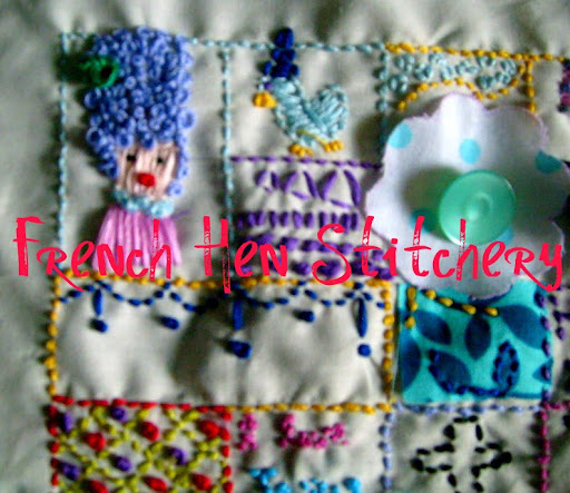 French Hen Stitchery