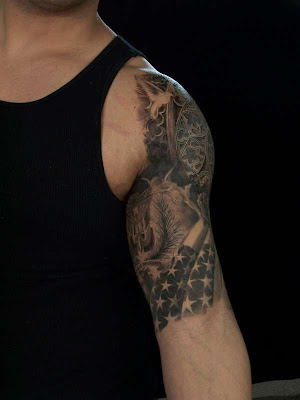 tribal tattoo, and learning the meaning behind it. koi fish tattoo sleeve