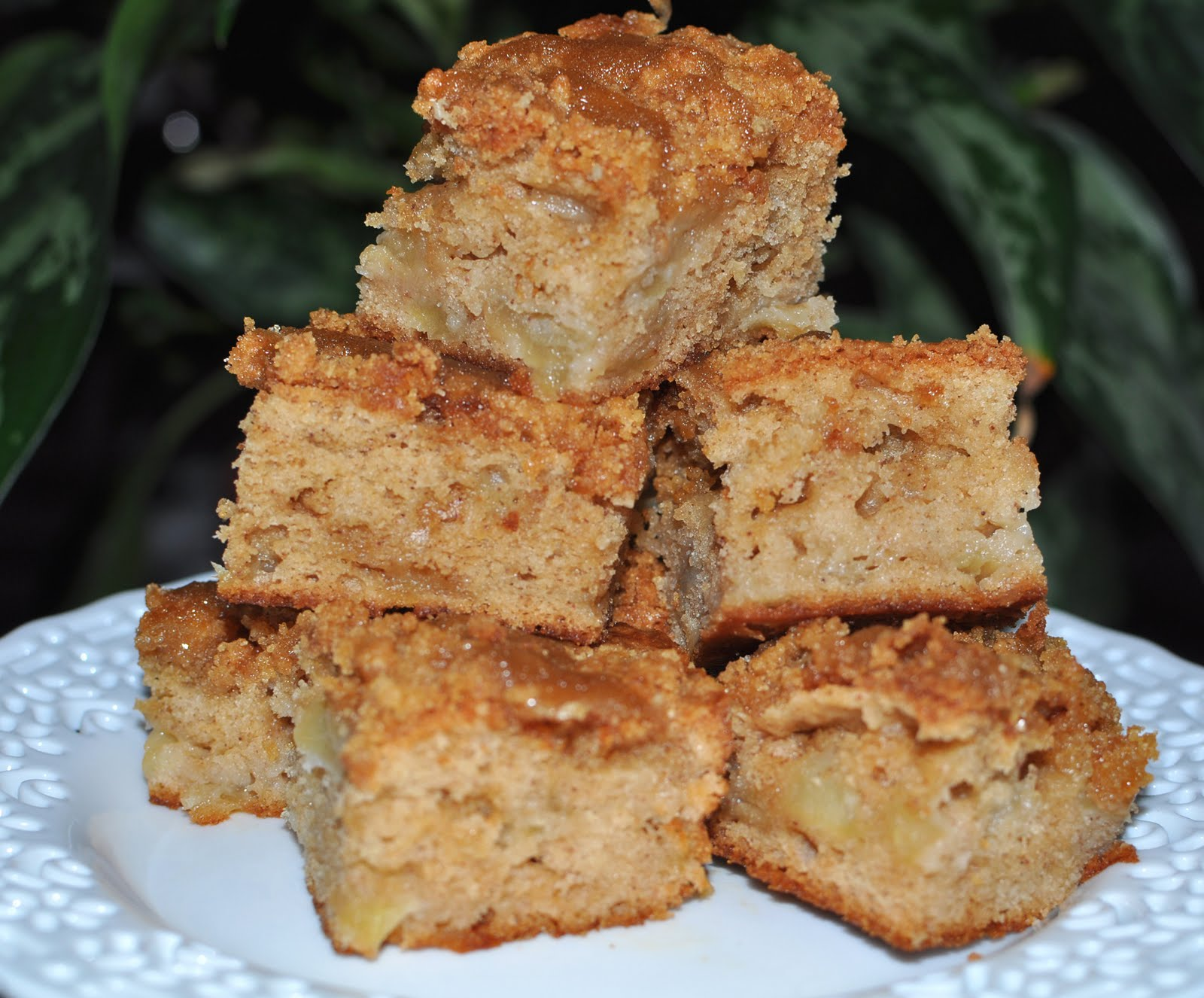 ... brown sugar glaze apple coffee crumb cake with brown sugar glaze