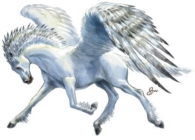Magic creatures e adesso pegaso - Mitologia greca mitologia cavallo uomo ...