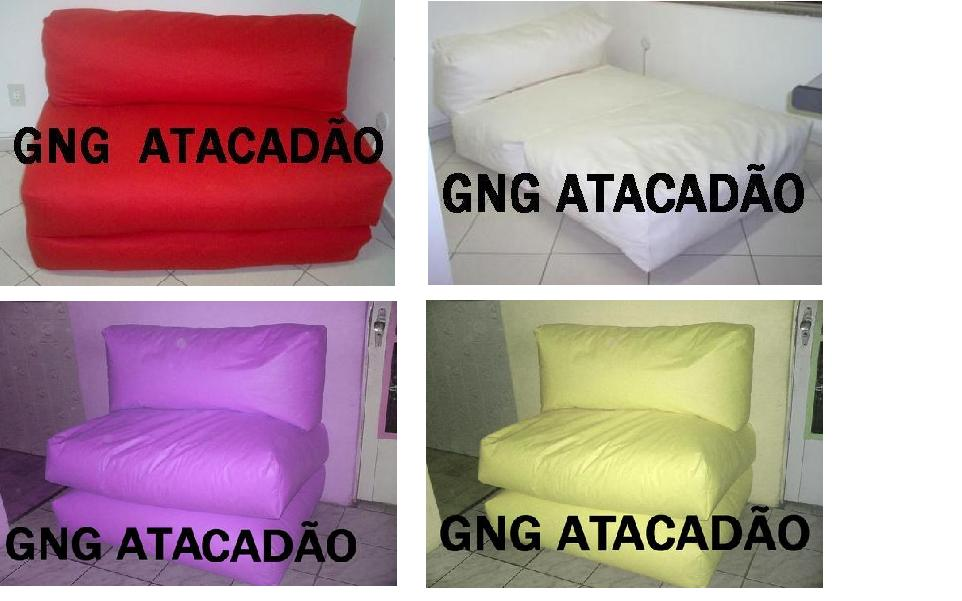 Gng atacad o for Puff cama 1 plaza