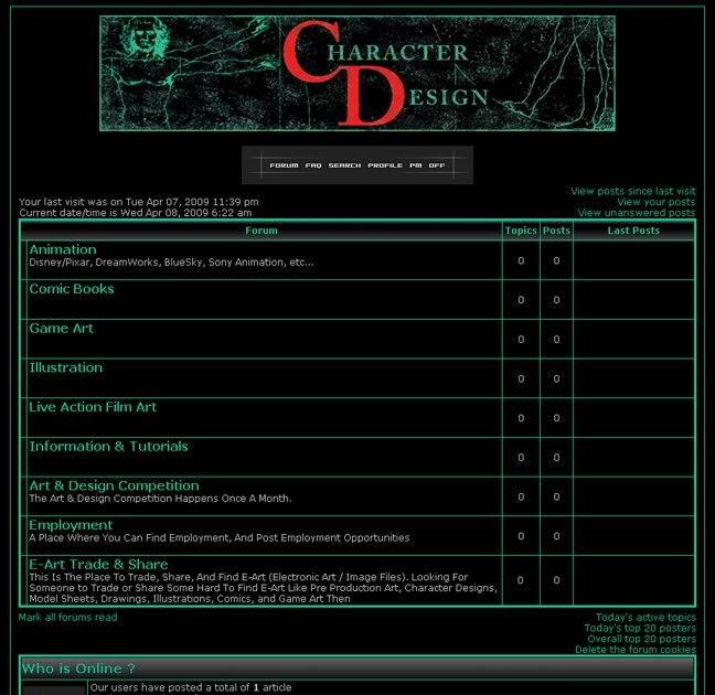 Character Design Artist Interviews The Character Design Forum - Game design forum