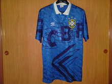 Vtg Jersey Brazil Away 91-93