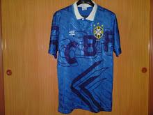 Vtg Jersey Brazil Away 91-93