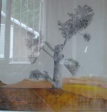 árbol con ventana