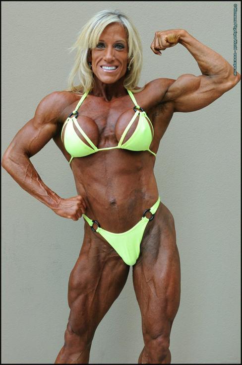 Algeria (DZ) Handsome Female Bodybuilders Photos