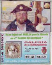 Huella del Camino, Palas de Rey, 2 outubre 2004