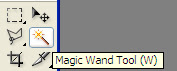 Tutorial Photoshop - Composicion de imagenes - Paso 1 - Magic wand