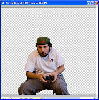 Tutorial Photoshop - Composicion de imagenes - Paso 1 - Seleccion