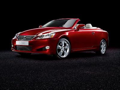 Lexus IS 250 Convertible Coupe-Cabriolet