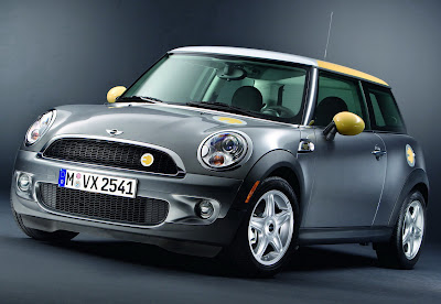 Electric Plug-In MINI E Cooper Pics