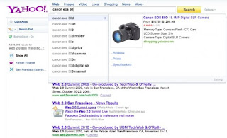 Yahoo Rich Search Assist
