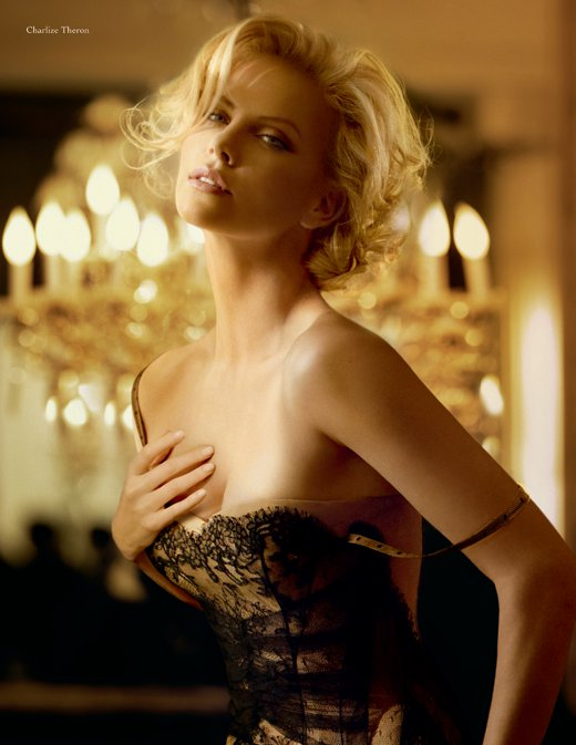 charlise theron j adore 