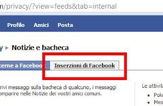 facebook inserzioni