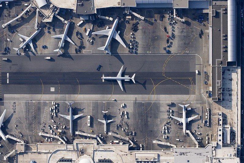 Amazing Aerial View of Airport Runways Golberz Com
