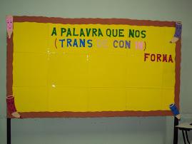 Mural das palavras
