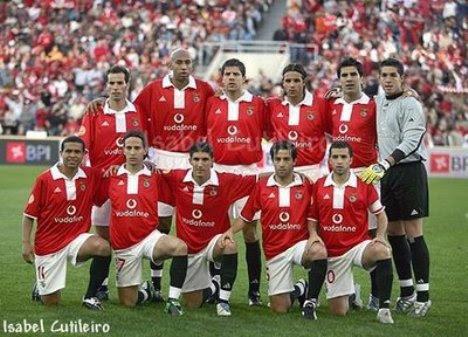Benfica Capeão Nacional 2003/04