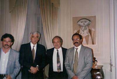 Deputado Paulo Rubens, Embaixador Renato Prado Guimarães, Deputado Pedro Eurico