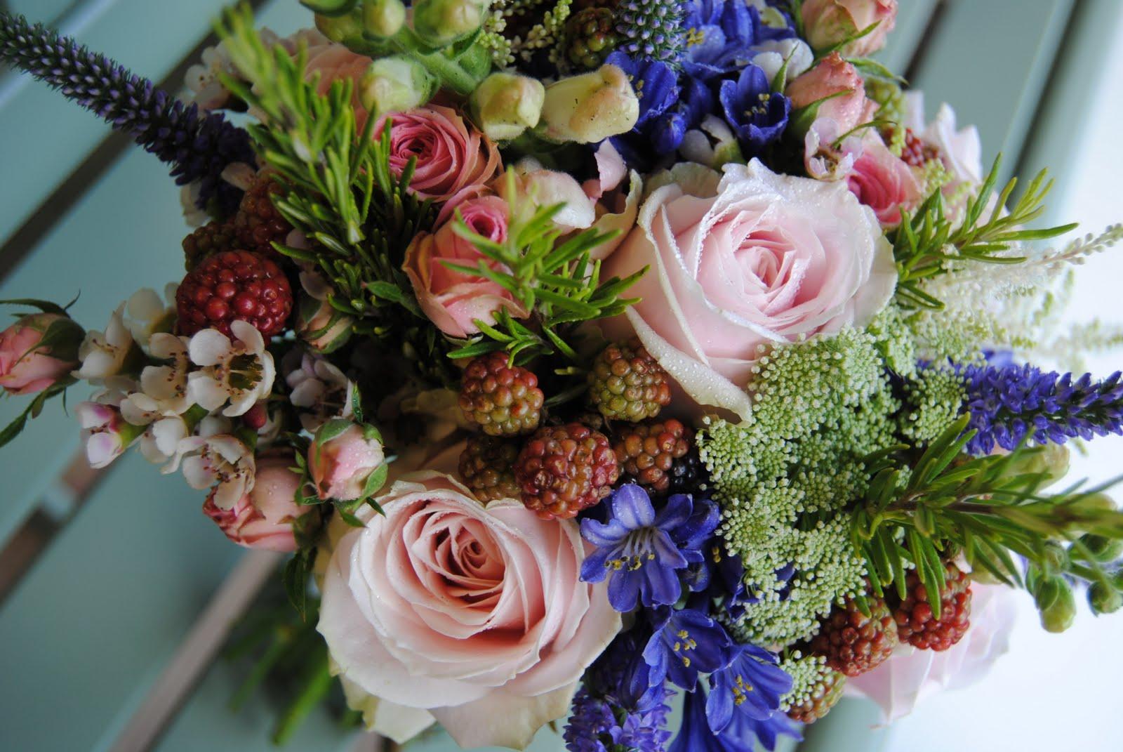 Ultraviolet Floral Design: James & Ellie\'s Country wedding flowers...