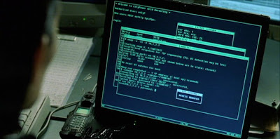 Trinity hacks Matrix with nmap and sshnuke (fair use)
