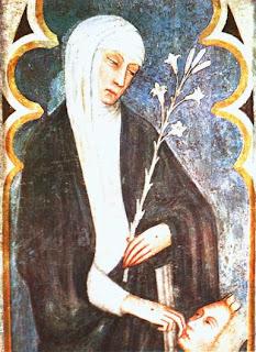 Andrea Vanni: Fresko in der Basilika S. Domenico in Siena, um 1375