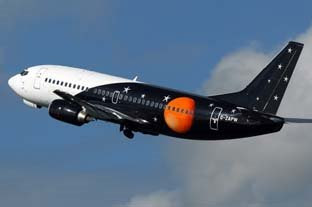 Titan Airways Boeing 737-300QC