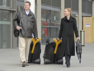 power assisted luggage