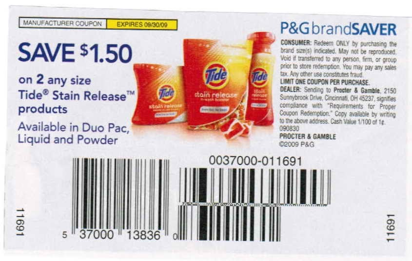 Free Coupons Online Printable Tide Coupons