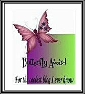 BUTTERFLAY AWARD