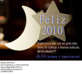 Saludo de ALFA (prensa y comunicacion)
