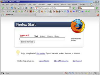 yahoo firefox start homepage