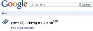 Google funny calcuator 5