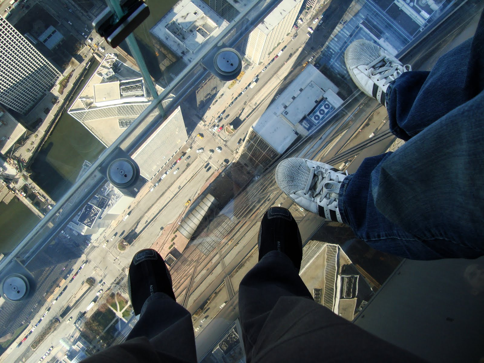 Willis Tower glass walk