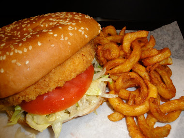 Chicken Sandwich + Curly Fries