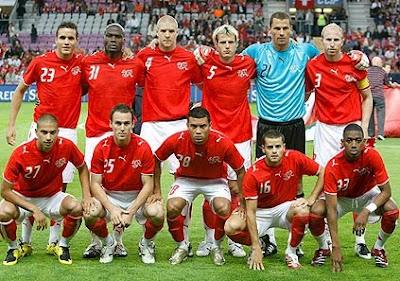 Lista de convocados de Suiza