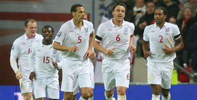 Lista de convocados de Inglaterra