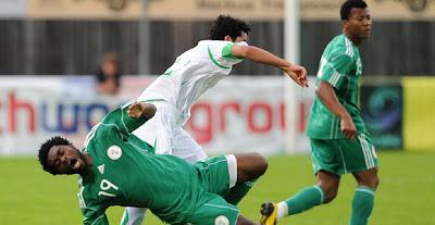 Nigeria empata con Arabia Saudita