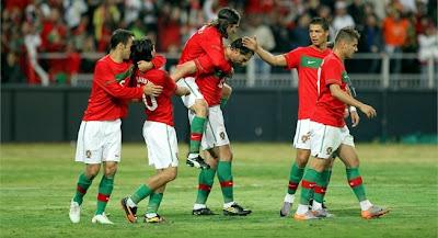 Portugal vencio a Mozambique
