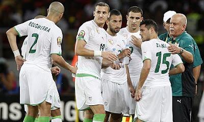 Lista de convocados de Algeria