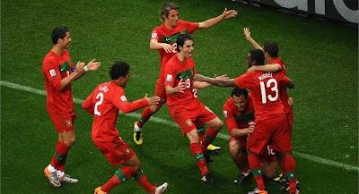 Un Cristiano Ronaldo a tope lleva a Portugal a la goleada ante Corea del Norte