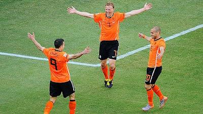 Holanda vencio a Dinamarca